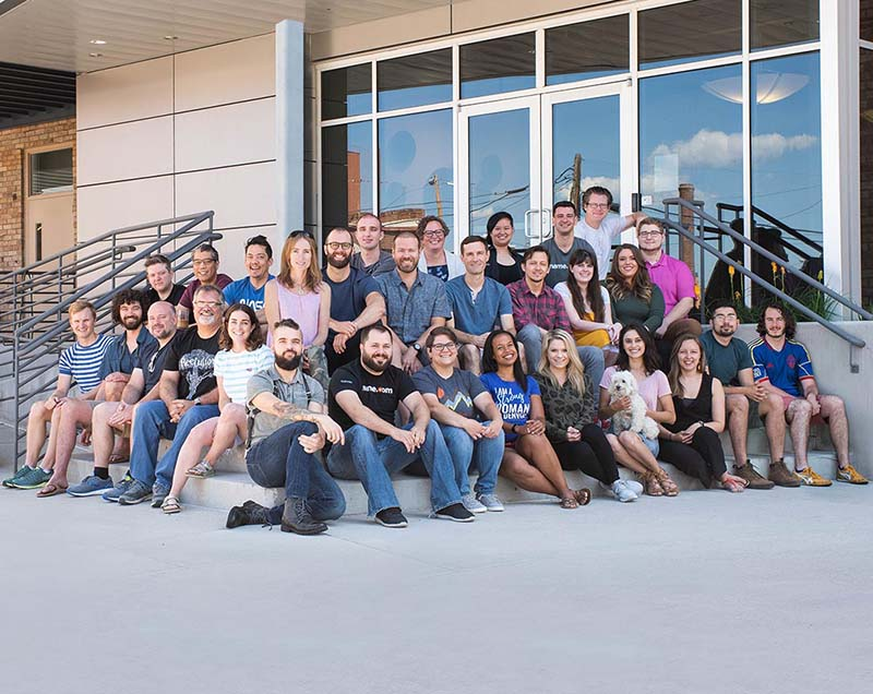 Name.com Group Photo