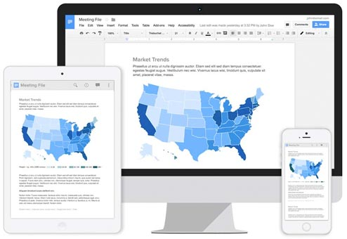 Google Docs on any device