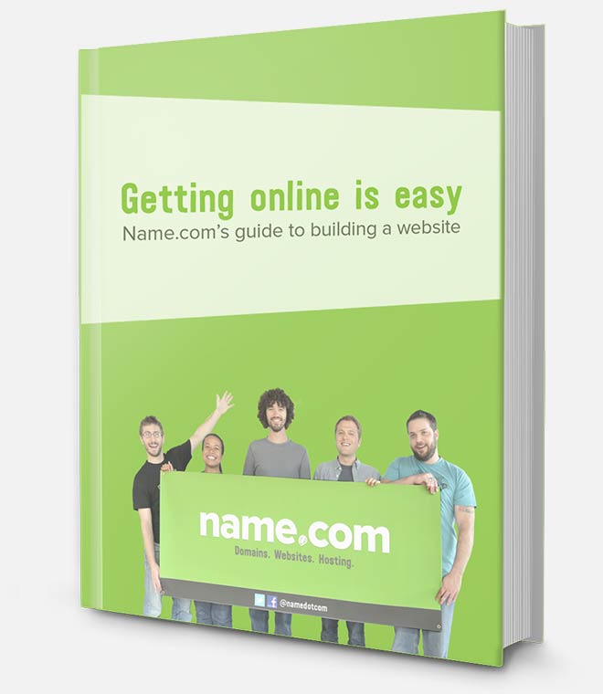 Name.com Ebook: Getting Online is Easy